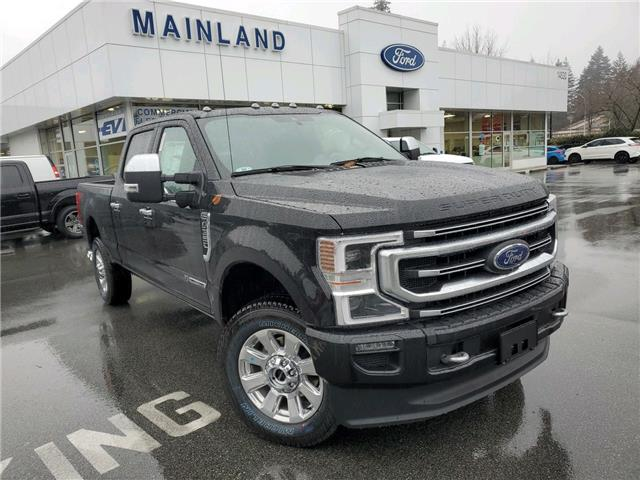 2020 Ford F-350 Platinum (Stk: 20F30595) in Vancouver - Image 1 of 10