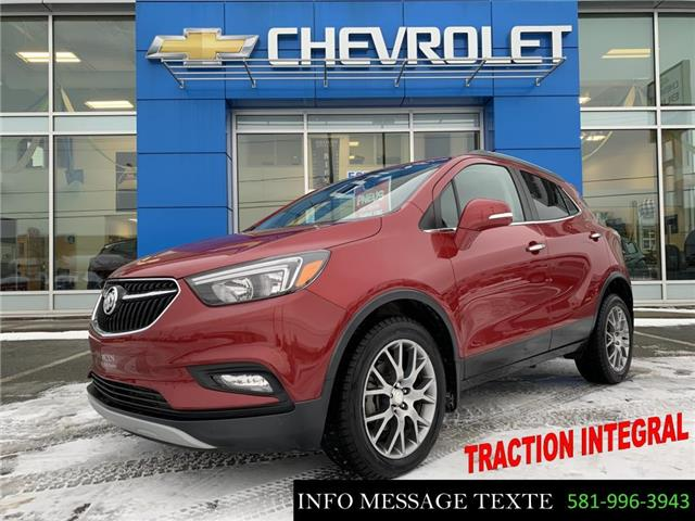 2018 Buick Encore Sport Touring (Stk: 21017A) in Ste-Marie - Image 1 of 30