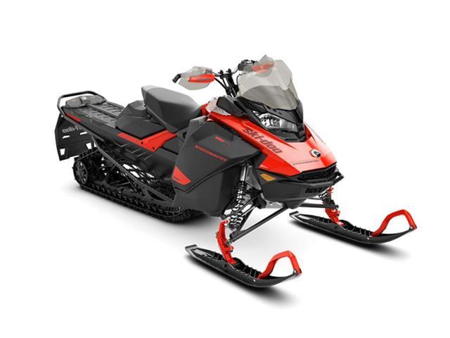 New 2021 Ski-Doo Backcountry™ Rotax® 850 E-TEC® Lava Red and Black   - YORKTON - FFUN Motorsports Yorkton