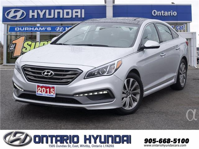 2015 Hyundai Sonata Sport (Stk: 58452L) in Whitby - Image 1 of 21