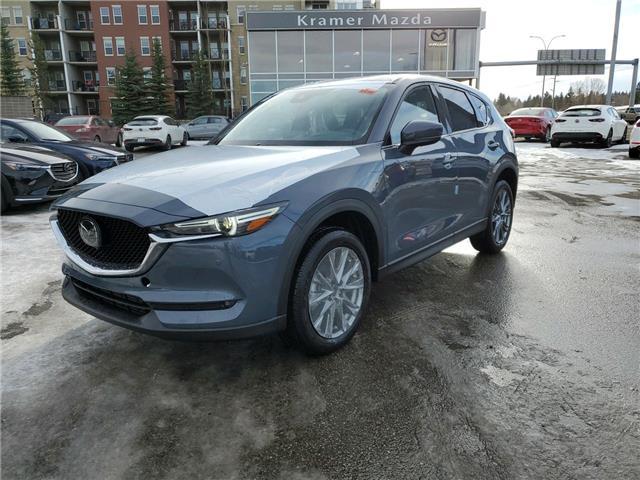 2021 Mazda CX-5 Signature (Stk: N6243) in Calgary - Image 1 of 4