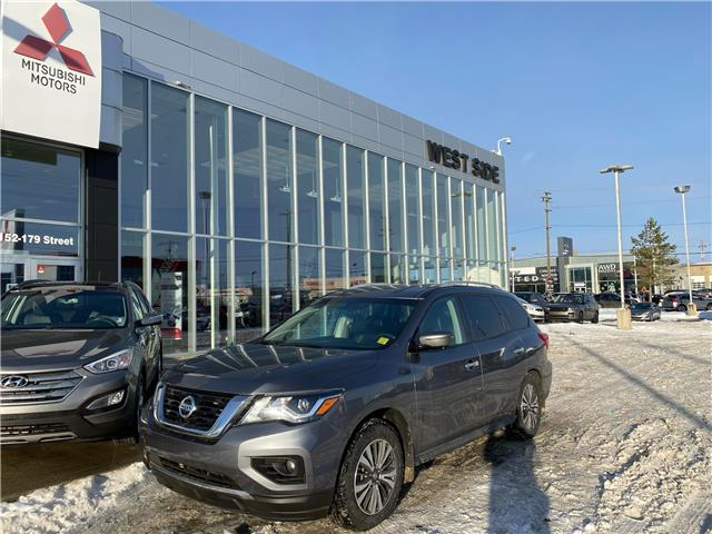 2017 Nissan Pathfinder Platinum (Stk: BM3894) in Edmonton - Image 1 of 29