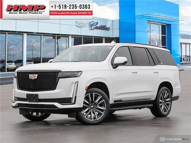 2021 Cadillac Escalade Sport (Stk: 89017) in Exeter - Image 1 of 27