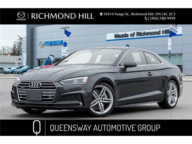 2018 Audi A5 2.0T Progressiv (Stk: P0559) in Richmond Hill - Image 1 of 22