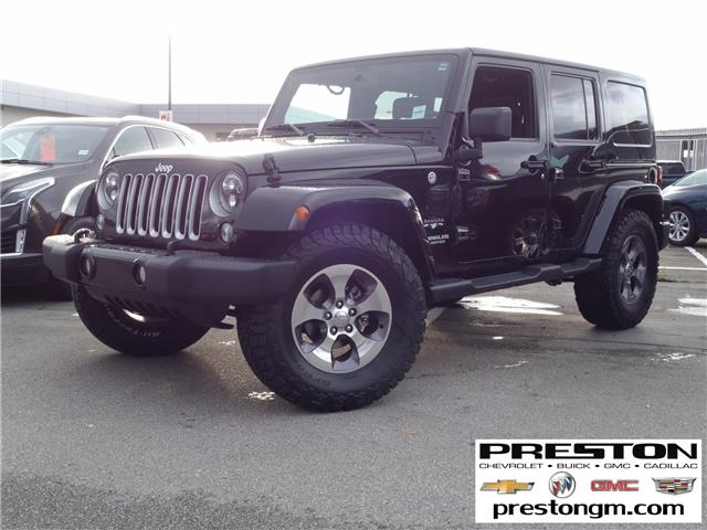 2016 Jeep Wrangler Unlimited Sahara (Stk: 0209992) in Langley City - Image 1 of 28