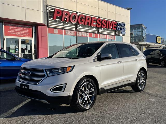 2016 Ford Edge Titanium (Stk: GBB96778) in Sarnia - Image 1 of 27