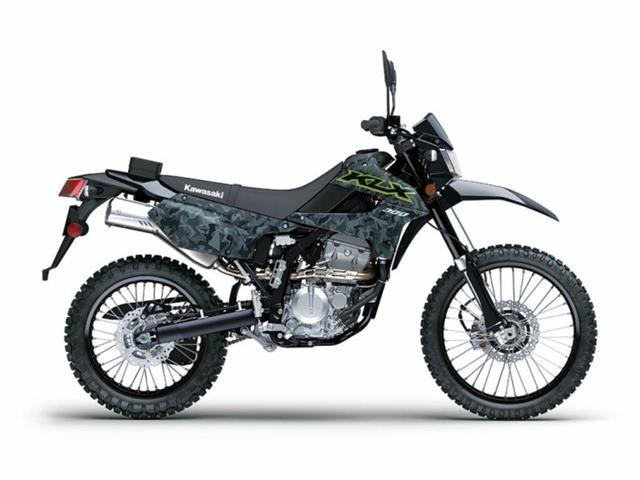New 2021 Kawasaki KLX®300 Fragment Camo Gray   - SASKATOON - FFUN Motorsports Saskatoon