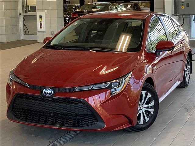 2021 Toyota Corolla Hybrid Base w/Li Battery (Stk: 22440) in Kingston - Image 1 of 24