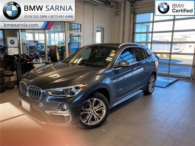 2017 BMW X1 xDrive28i (Stk: XU353) in Sarnia - Image 1 of 10
