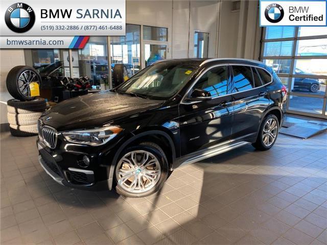 2017 BMW X1 xDrive28i (Stk: XU352) in Sarnia - Image 1 of 10