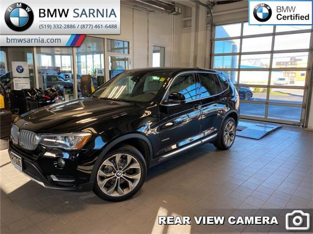 2017 BMW X3 xDrive28i (Stk: XU358) in Sarnia - Image 1 of 10