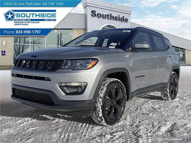 2021 Jeep Compass Altitude (Stk: JC2104) in Red Deer - Image 1 of 25