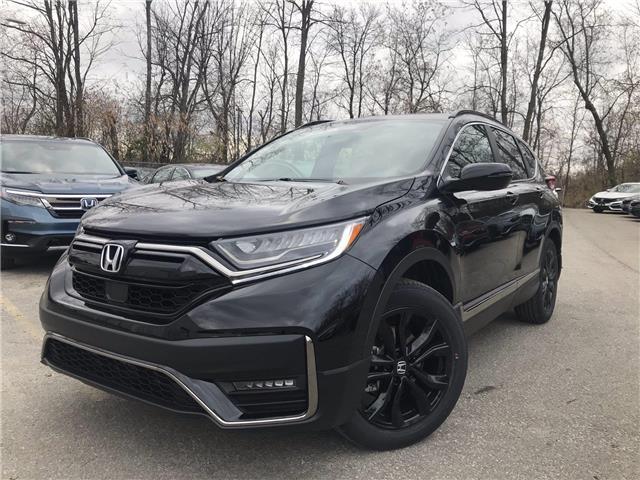 2021 Honda CR-V Black Edition (Stk: 11129) in Brockville - Image 1 of 26