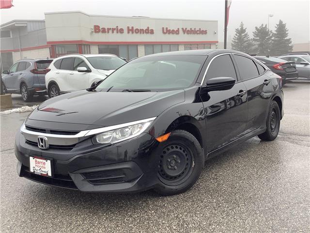 2018 Honda Civic LX (Stk: U18116) in Barrie - Image 1 of 21