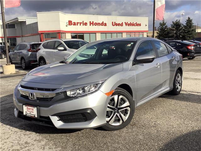 2018 Honda Civic LX (Stk: U18216) in Barrie - Image 1 of 25
