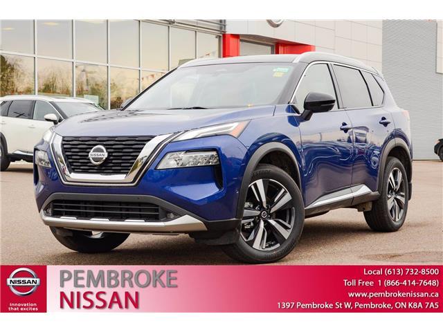 2021 Nissan Rogue Platinum (Stk: 21000) in Pembroke - Image 1 of 30