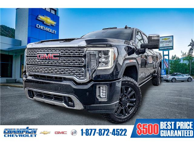 2021 GMC Sierra 3500HD Denali (Stk: 21-36) in Trail - Image 1 of 30