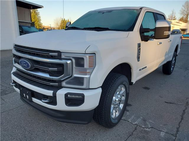 2020 Ford F-350 Platinum (Stk: 20F37351) in Vancouver - Image 1 of 8