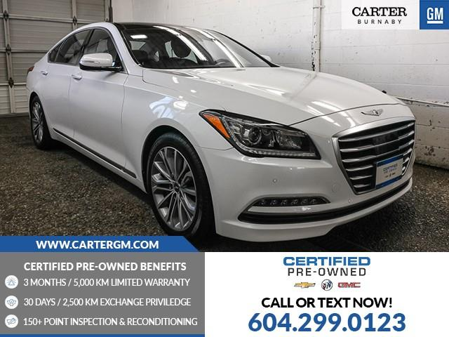 2017 Genesis G80 3.8 Technology (Stk: D1-18412) in Burnaby - Image 1 of 25