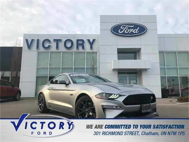 2020 Ford Mustang  (Stk: V10465CAP) in Chatham - Image 1 of 28