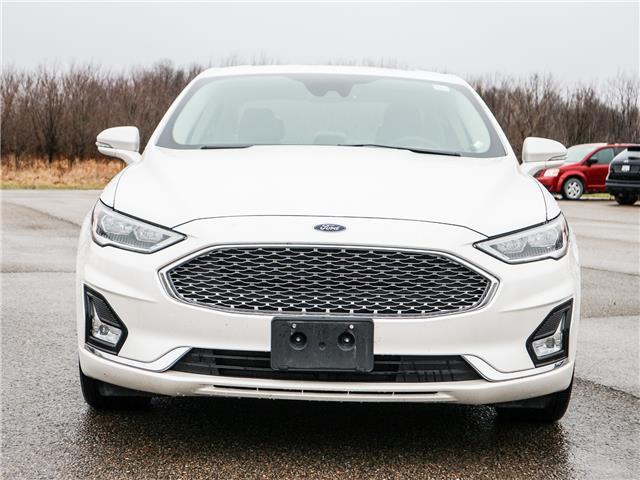 2020 Ford Fusion Hybrid Titanium (Stk: W1141) in Smiths Falls - Image 1 of 29