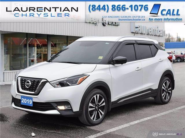 2019 Nissan Kicks SV (Stk: 21056A) in Sudbury - Image 1 of 25