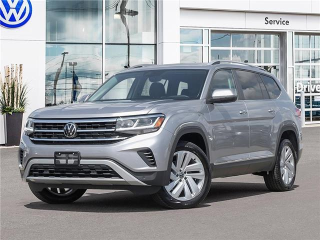2021 Volkswagen Atlas 3.6 FSI Highline (Stk: A21027) in Sault Ste. Marie - Image 1 of 22