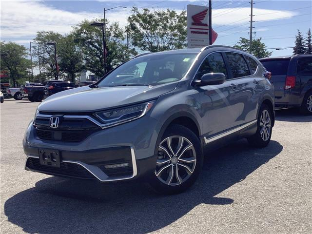 2021 Honda CR-V Touring (Stk: 21111) in Barrie - Image 1 of 28