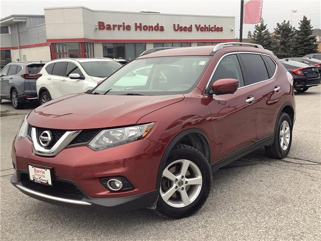 2016 Nissan Rogue SV (Stk: U16921) in Barrie - Image 1 of 25