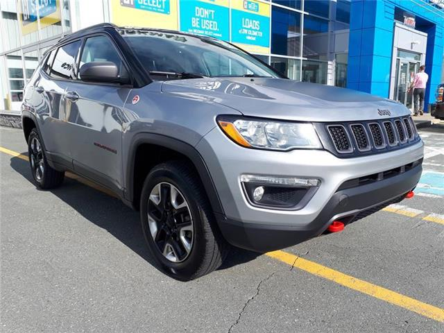 2018 Jeep Compass Trailhawk (Stk: DU61061) in St. John\'s - Image 1 of 19