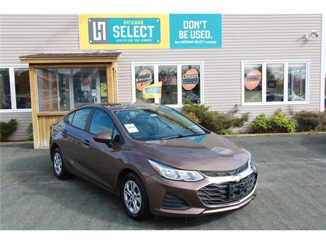 2019 Chevrolet Cruze LS (Stk: HU95421) in St. John\'s - Image 1 of 19