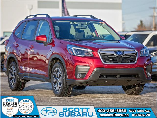 2021 Subaru Forester Touring (Stk: 410398) in Red Deer - Image 1 of 17
