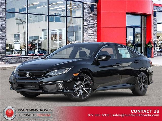 2021 Honda Civic Sport (Stk: 221046) in Huntsville - Image 1 of 23