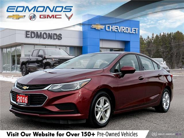 2016 Chevrolet Cruze LT Auto (Stk: 0653A) in Huntsville - Image 1 of 27