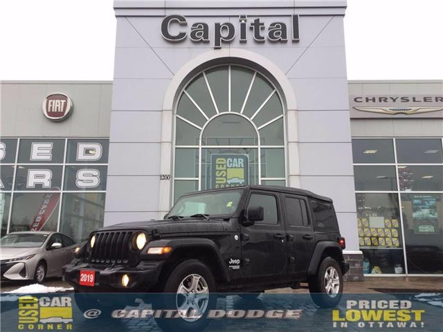 2019 Jeep Wrangler Unlimited Sport (Stk: P2942A) in Kanata - Image 1 of 21