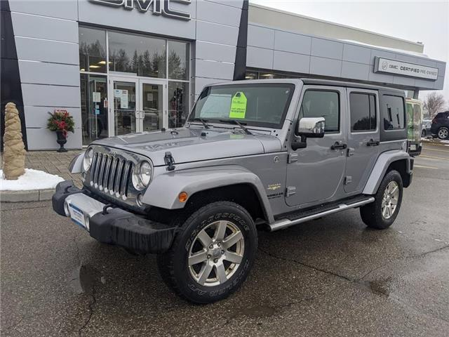 2015 Jeep Wrangler Unlimited Sahara (Stk: 21094A) in Orangeville - Image 1 of 16
