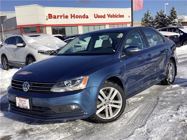 2015 Volkswagen Jetta 2.0 TDI Highline (Stk: U15600) in Barrie - Image 1 of 25