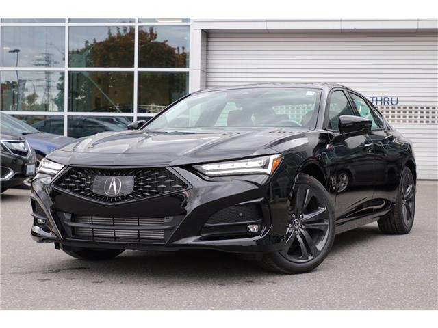 2021 Acura TLX A-Spec (Stk: 19455) in Ottawa - Image 1 of 30