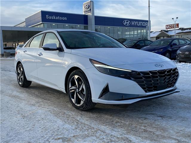 2021 Hyundai Elantra Ultimate w/Tech Pkg & Black Seats (Stk: 50117) in Saskatoon - Image 1 of 11