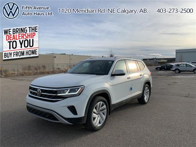 2021 Volkswagen Atlas 3.6 FSI Highline (Stk: 21061) in Calgary - Image 1 of 30