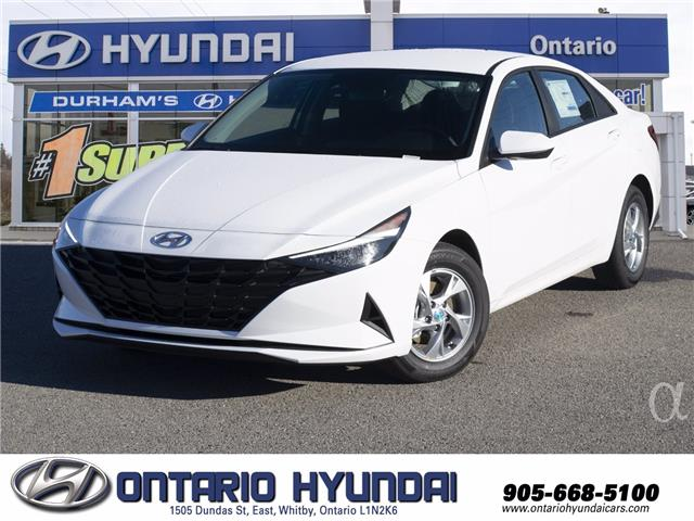 2021 Hyundai Elantra ESSENTIAL (Stk: 071244) in Whitby - Image 1 of 17