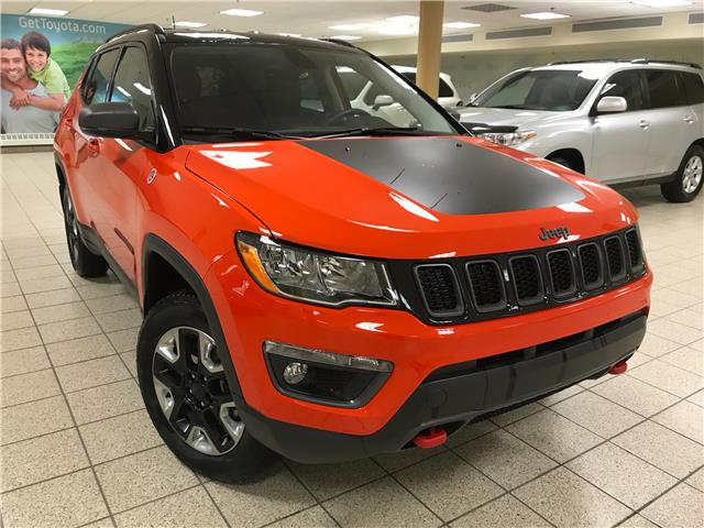 2018 Jeep Compass Trailhawk (Stk: 201504A) in Calgary - Image 1 of 15