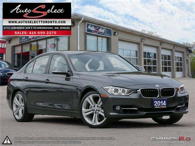 2014 BMW 328i xDrive (Stk: 1ZXDN21) in Scarborough - Image 1 of 28