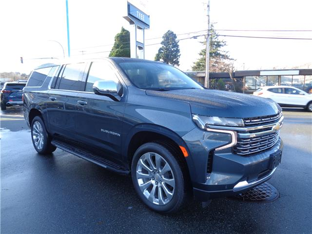 2021 Chevrolet Suburban Premier (Stk: T21016) in Campbell River - Image 1 of 26