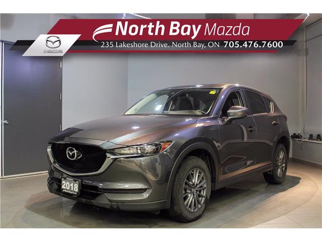 2018 Mazda CX-5 GS (Stk: U6762) in North Bay - Image 1 of 21