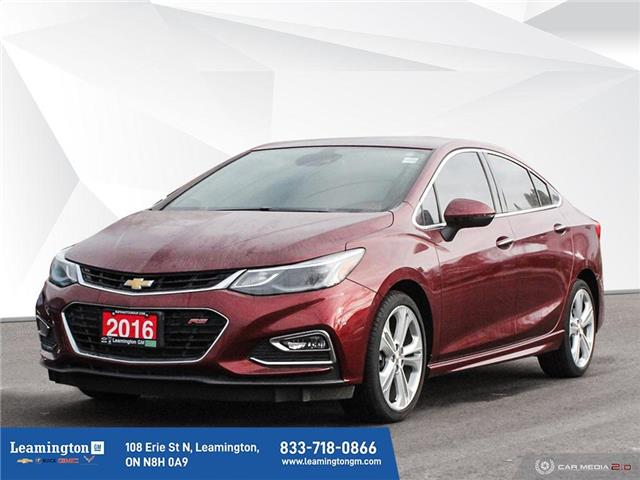 2016 Chevrolet Cruze Premier Auto (Stk: 21-134A) in Leamington - Image 1 of 30