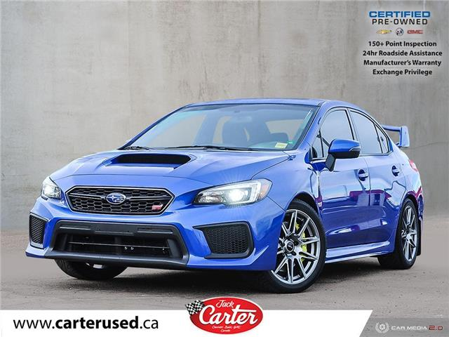 2019 Subaru WRX STI Sport-tech w/Wing (Stk: 18302L) in Calgary - Image 1 of 29