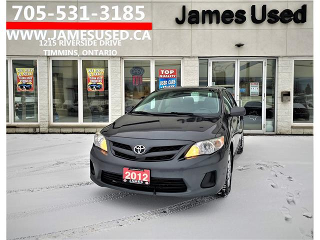 2012 Toyota Corolla CE (Stk: P02851A) in Timmins - Image 1 of 14