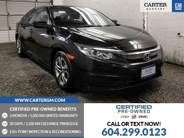 2017 Honda Civic LX (Stk: P9-63130) in Burnaby - Image 1 of 24