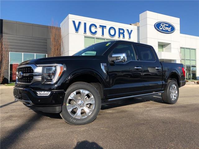 2021 Ford F-150 Platinum (Stk: VFF19966) in Chatham - Image 1 of 16